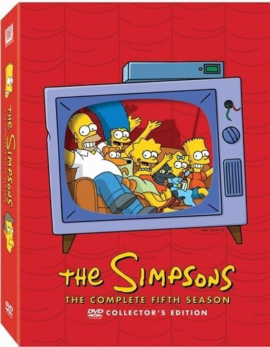 THE SIMPSONS COMPLETE FIFTH SEASON 5 New Sealed 4 DVD Set