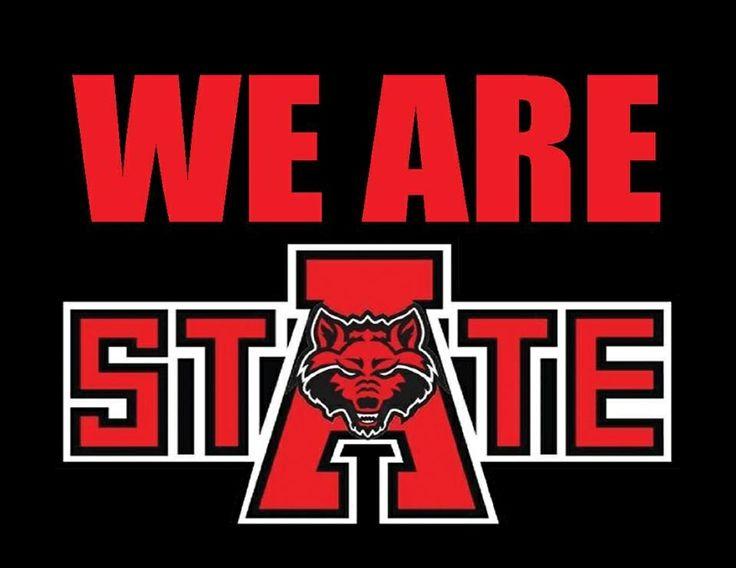 Go Red Wolves Arkansas State University Arkansas State
