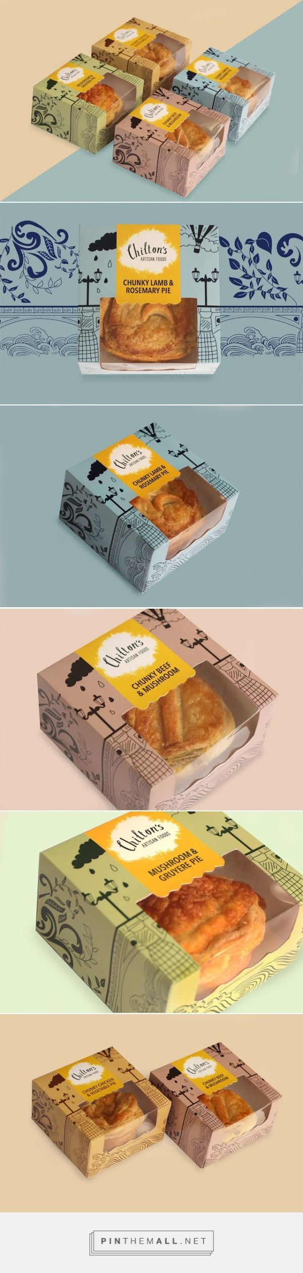 Chilton's Pie - Packaging of the World - Creative Package Design Gallery - http://www.packagingoftheworld.com/2016/01/chiltons-pie.html