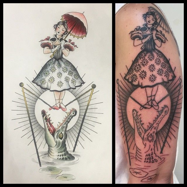 My new haunted mansion tattoo. #disney