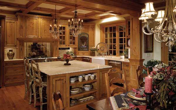 Gotta love country kitchens! | houseplansandmore.com
