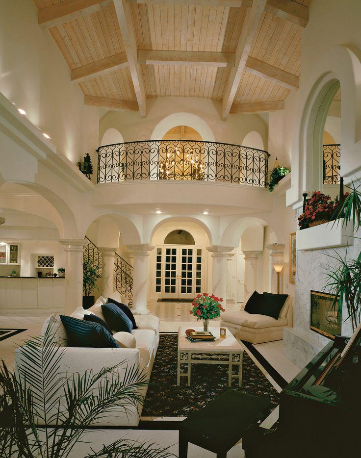 Home Foyer Balconies : Terrific living room and foyer balcony home pinterest