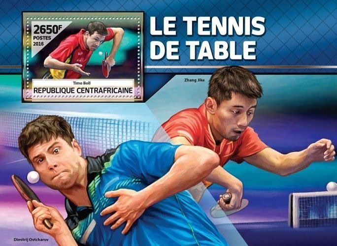 Best table tennis player on stamps. Wow! #Tabletennis #timoboll