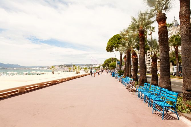 Travel Inspiration for France - the beautiful seaside town of Cannes #travel #france #cannes #travelinspiraton