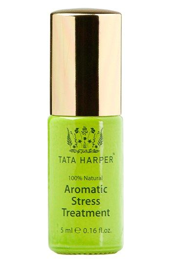 Free shipping and returns on Tata Harper Skincare Tata Harper™ Aromatic Stress Treatment at Nordstrom.com. The Aromatic stress treatment features a soothing blend of florals and essential oils designed to help dispel anxiety and stress while promoting relaxation.<br><br>How to use: Apply to pulse points at the wrists, temples and neck as often as needed. For immediate results, apply liberally to your palms and inhale deeply for no less than five breaths.