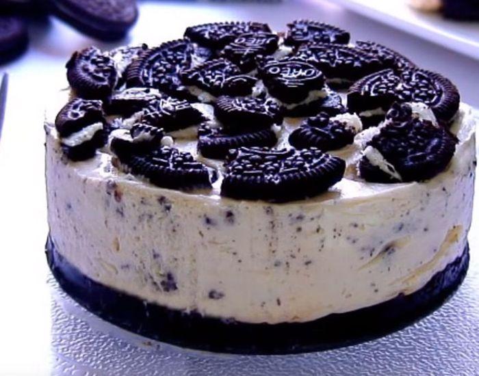 Cheesecake med Oreo - superpopulær og nem! - Måltid