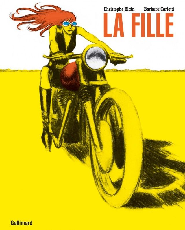 La fille by Christophe Blain (drawings) and Barbara Carlotti (Music)