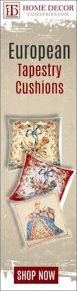 European Tapestry Cushions