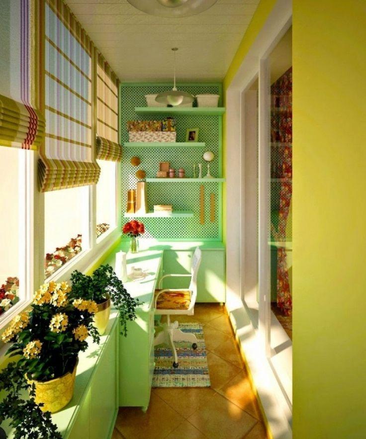 38 idées pour revaloriser votre balcon ou loggia afin d'en faire un espace agréable…