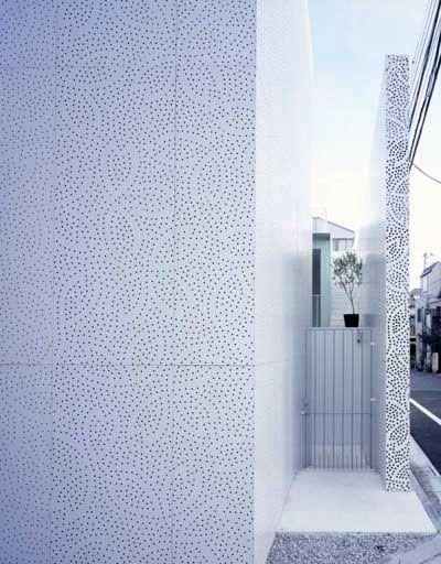 Sakura House : Dentelle de béton japonisante