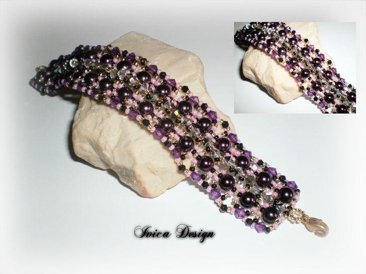 Velence bead bracelet <3 Follow me on my Facebook page: https://www.facebook.com/IvicaDesign/ Buy my jewelrys on: https://porteka.com/hu/ivica