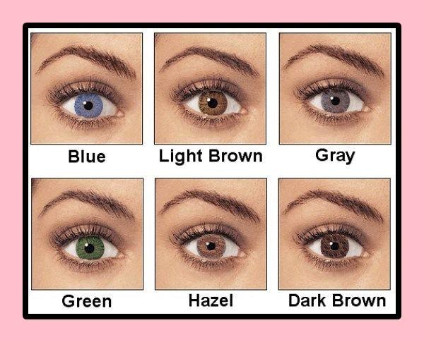 Haselnussbraun Augen