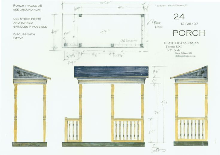 Front Elevation Set Design : Best images about painter s elevations for scenic
