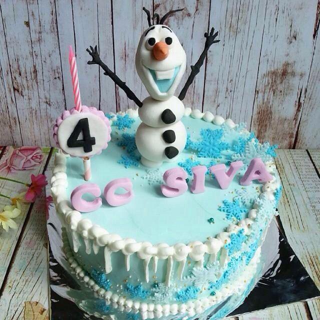 830 best Frozen cakes images on Pinterest Frozen party Frozen