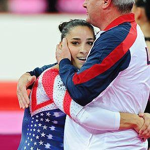 for honoring the munich massacre and having the courage to be a proud Jew in front of millions. I hope my daughter's turn out like you! aly-raisman-wins