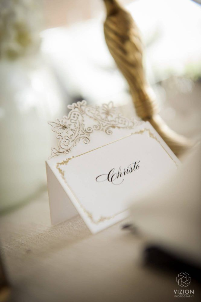 Elize & Stefan Real Wedding Showcase - The Aleit Group  Wedding stationery.Gold pattern Secret Diary. Vizion Photography and Films. Laurent Venue. South Africa.