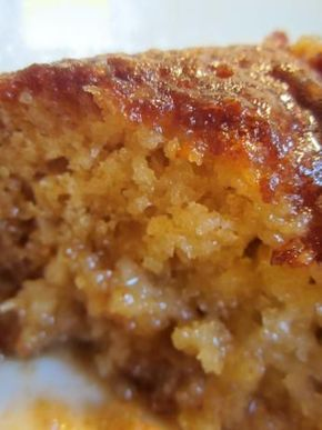 Malva Pudding, South African Baked Dessert. Photo by SnufkinFin http://www.food.com/recipe/malva-pudding-south-african-baked-dessert-118545