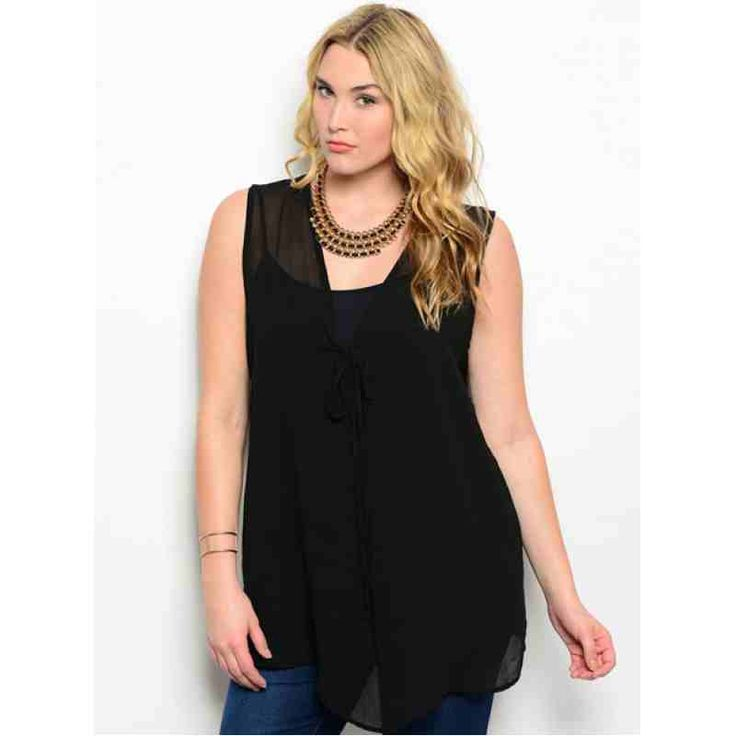BLACK PLUS SIZE TOP $36.00 http://www.curvyclothing.com.au/index.php?route=product/product&path=95_101&product_id=5470&limit=100