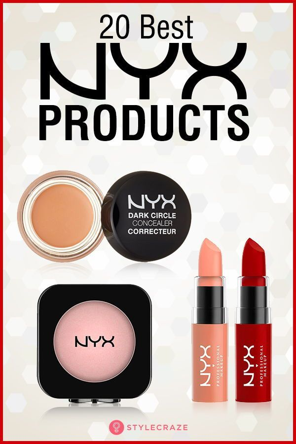 10 Of The Best Makeup Products From Nyx Cosmetics Nyx Cosmetics Best Makeup Products Best Nyx Products