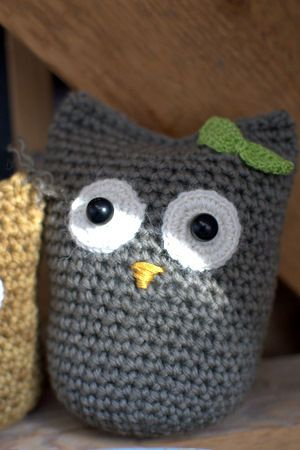 Crochet owl seriously...just learn how to crochet already.