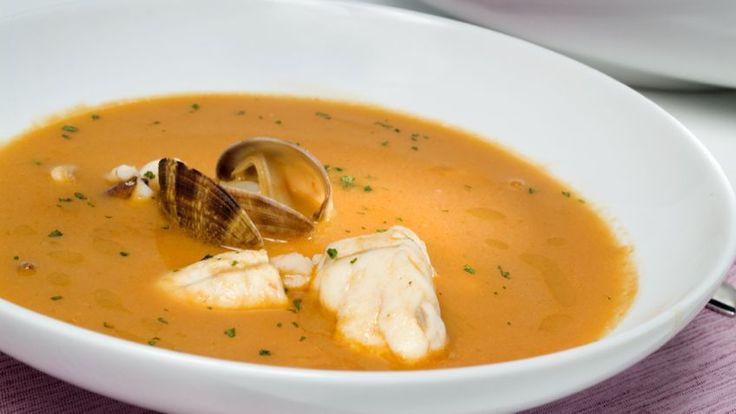 Receta de Sopa de pescado, receta de la abuela