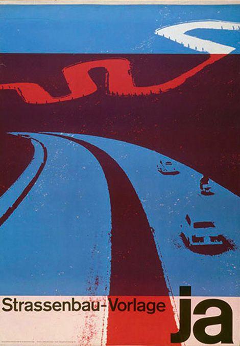 Josef Muller Brockmann Poster Collection by Lars Muller via grain edit