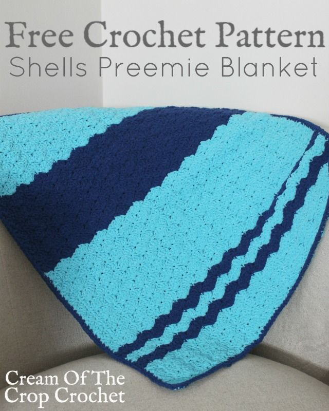 Shells Of Love Crochet Baby Blanket Pattern : 1079 best images about Crochet - Baby Blankets on Pinterest