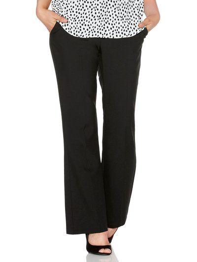 Petite Stretch Bootcut Trousers | Women's Petite Trousers | M