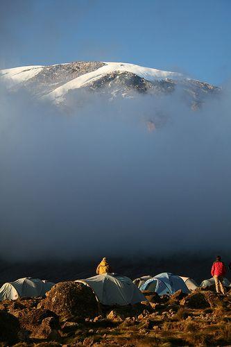 Kilimanjaro from Karanga campiste, Shira Route