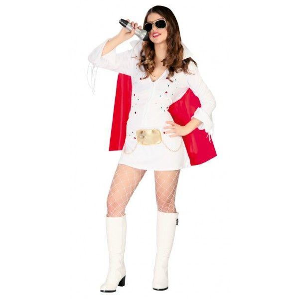 Disfraz de Elvis Mujer