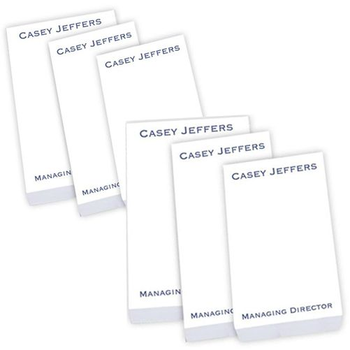 StationeryXpress.com - 2 Personalized Note Pads on Sale - Business Memo Pads - 300 Sheets, $19.96 (http://www.stationeryxpress.com/2-personalized-note-pads-on-sale-business-memo-pads-300-sheets/)