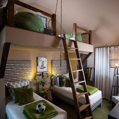 bedroom loft for children's room