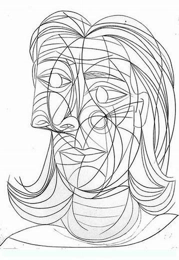 image result for picasso printable coloring pages