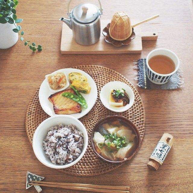 A perfect Japanese meal.