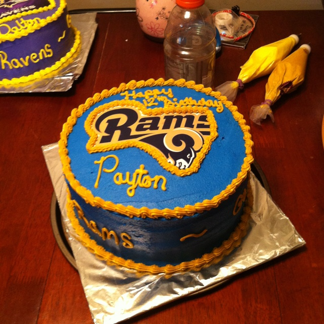 Super Bowl Party Decorations Uk: 34 Best Rams Baby! Images On Pinterest