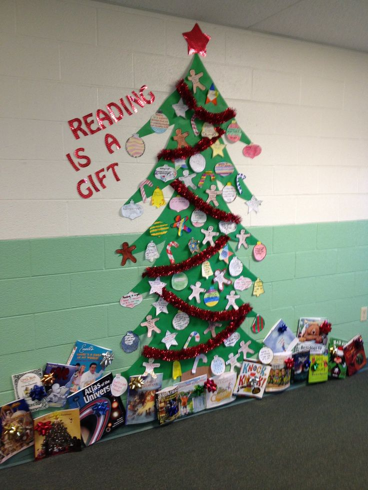 Christmas Ideas For School Libraries : Best images about classroom bulletin boards on