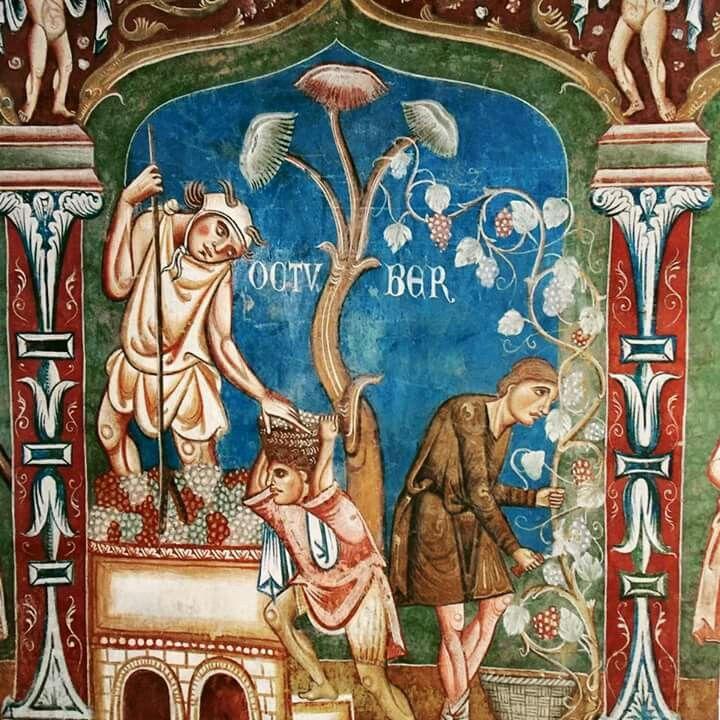 Metà del XIII secolo, Aula gotica, Roma.