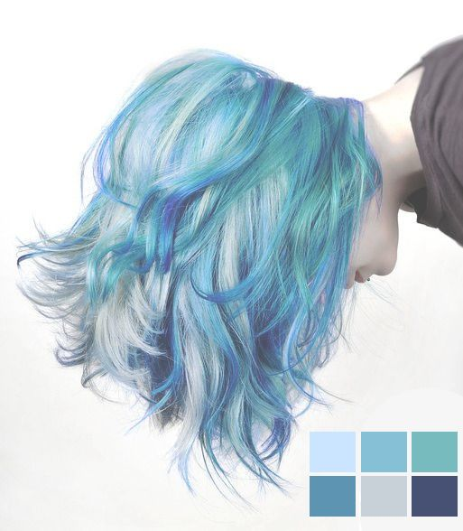 loving this blue hair color trend http://tomybsalon.com/reviews-tomy-b-long-island-hair-salon-2/