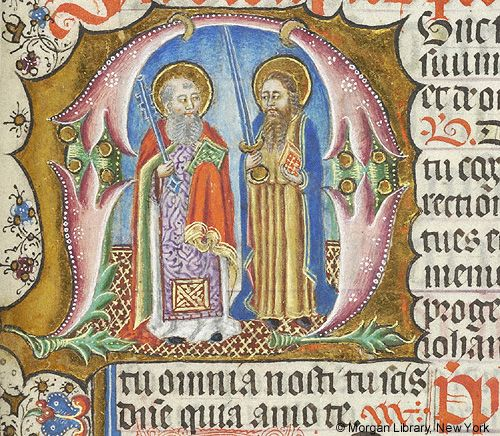 Missal, M.450 fol. 129r - Images from Medieval and Renaissance Manuscripts - The Morgan Library & Museum