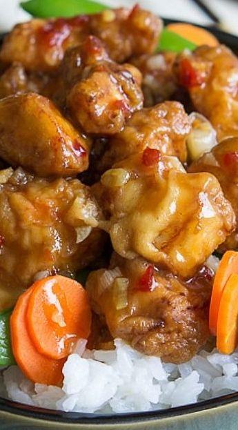 Copycat Pei Wei Spicy Chicken