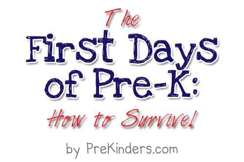 First Days of Pre-K