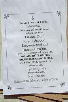Abschluss-Bevorzugungen - Abschluss-Gastgeschenke - Abschluss-Bevorzugungs-Taschen - Abschluss-Süßigkeits-Buffet-Taschen | Abschlussfeier | Abschlussdekorationen