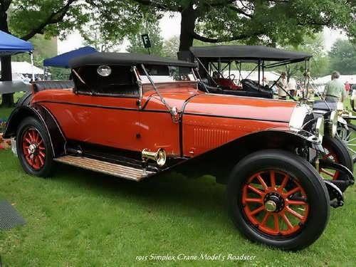 1915 - Simplex Crane Model S Roadster
