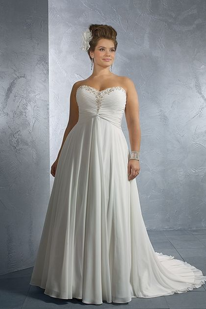 Angela Plus Size Wedding Dresses  This dress has my name, must be meant for me!