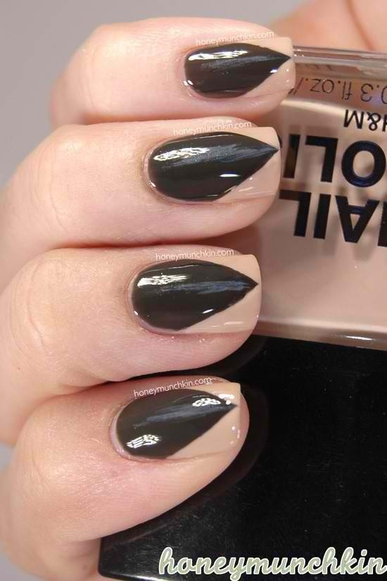 Claw fingernail paint job