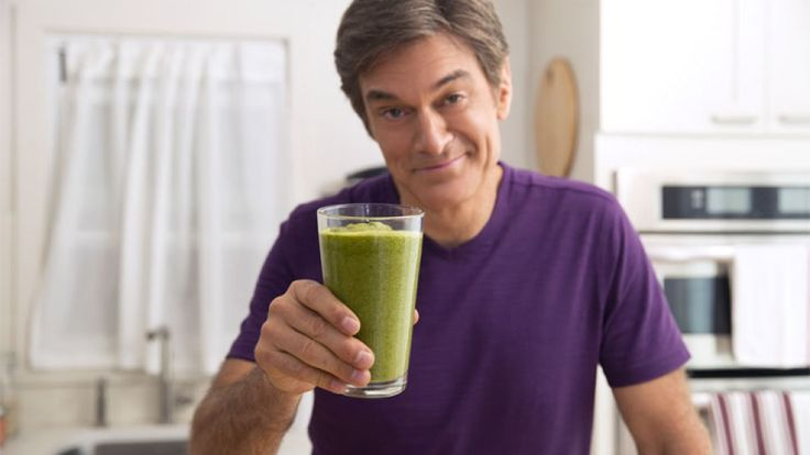 Dr. Oz shares one of his favorite recipes. Jumpstart your mornings with this high-fiber, low-calorie breakfast drink.