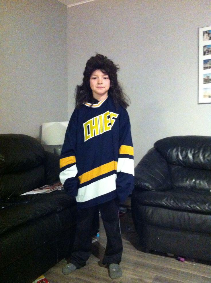 Halloween as a hanson brother hockey pinterest