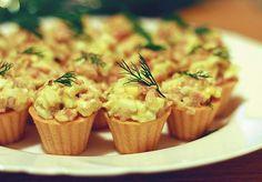 12 начинок для тарталеток   Печем и варим