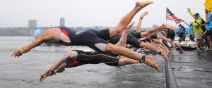 NYC Triathlon Open Water Swim