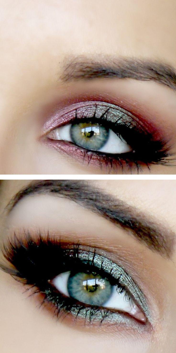 Berry  emerald smokey eyes Beauty & Personal Care - Makeup : Eyes - Eyeshadow - Makeup - http://amzn.to/2jRlRZU